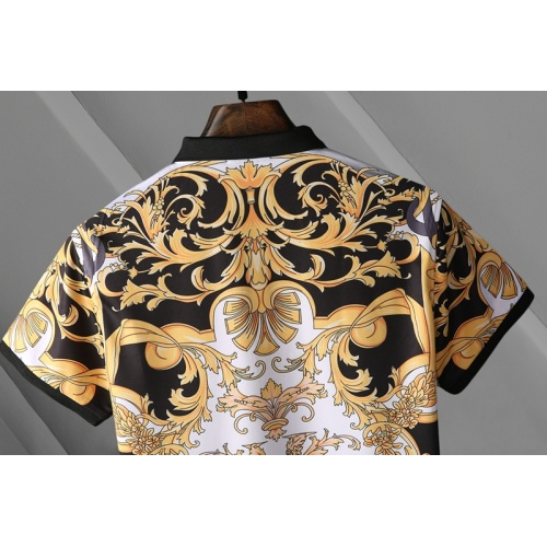 Replica Versace T-Shirts Short Sleeved For Men #865174 $25.00 USD for Wholesale