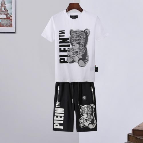 Philipp Plein PP Tracksuits Short Sleeved For Men #865182