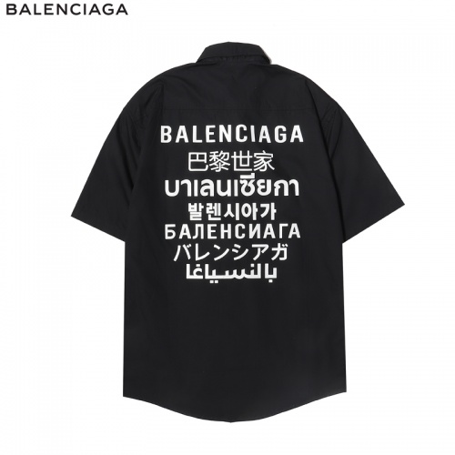 Balenciaga Shirts Short Sleeved For Men #865211