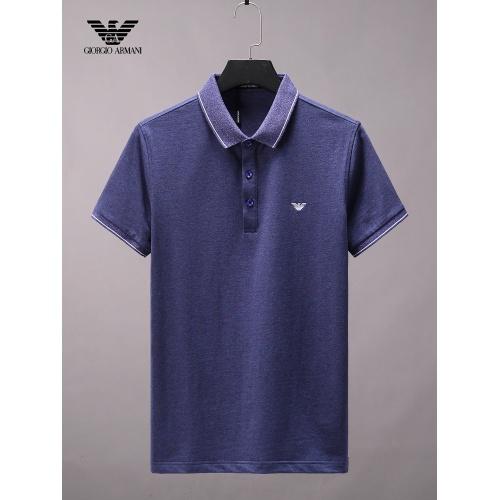 Armani T-Shirts Short Sleeved For Men #865264