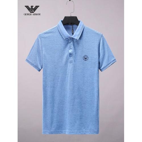 Armani T-Shirts Short Sleeved For Men #865270
