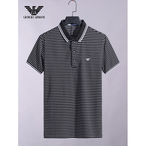 Armani T-Shirts Short Sleeved For Men #865272