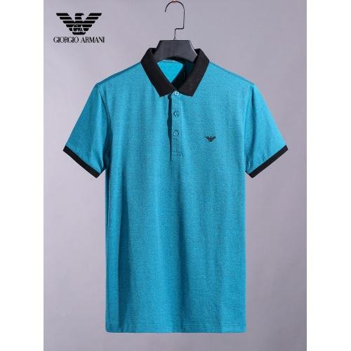 Armani T-Shirts Short Sleeved For Men #865275