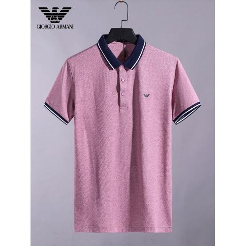 Armani T-Shirts Short Sleeved For Men #865277