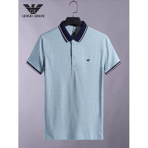 Armani T-Shirts Short Sleeved For Men #865278