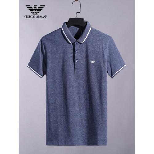 Armani T-Shirts Short Sleeved For Men #865282