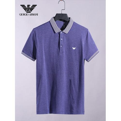 Armani T-Shirts Short Sleeved For Men #865286