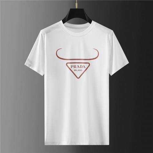 Prada T-Shirts Short Sleeved For Men #865399