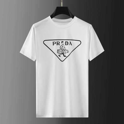 Prada T-Shirts Short Sleeved For Men #865410