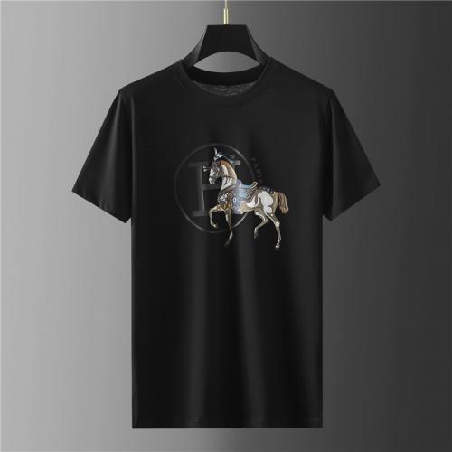 Hermes T-Shirts Short Sleeved For Men #865420