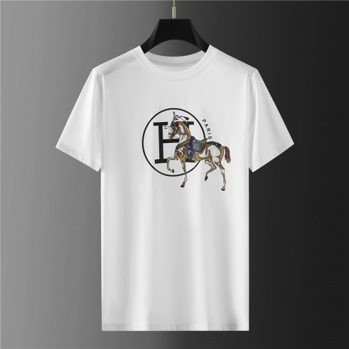 Hermes T-Shirts Short Sleeved For Men #865421