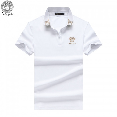 Versace T-Shirts Short Sleeved For Men #865455 $32.00 USD, Wholesale Replica Versace T-Shirts