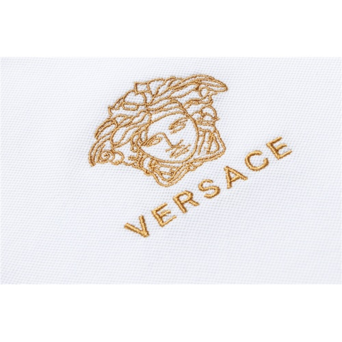 Replica Versace T-Shirts Short Sleeved For Men #865455 $32.00 USD for Wholesale