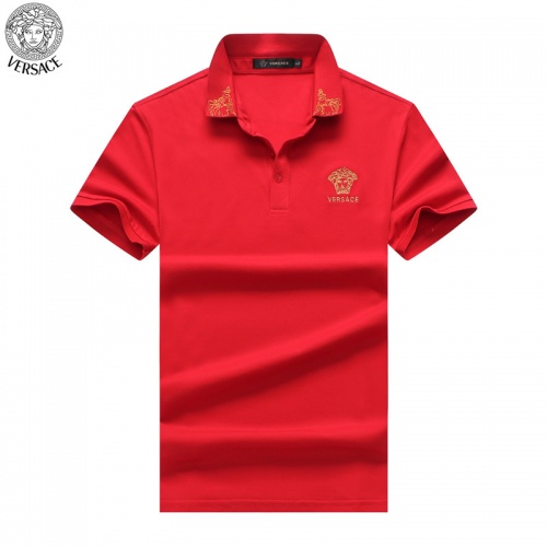 Versace T-Shirts Short Sleeved For Men #865456 $32.00 USD, Wholesale Replica Versace T-Shirts