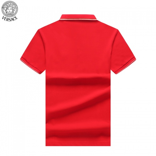 Replica Versace T-Shirts Short Sleeved For Men #865462 $32.00 USD for Wholesale