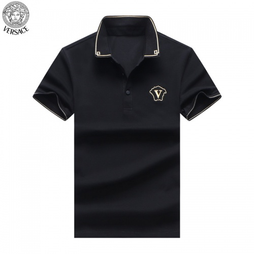 Versace T-Shirts Short Sleeved For Men #865464 $32.00 USD, Wholesale Replica Versace T-Shirts