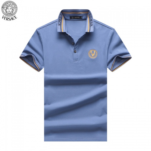 Versace T-Shirts Short Sleeved For Men #865465