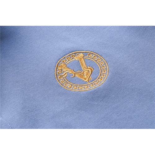Replica Versace T-Shirts Short Sleeved For Men #865465 $32.00 USD for Wholesale