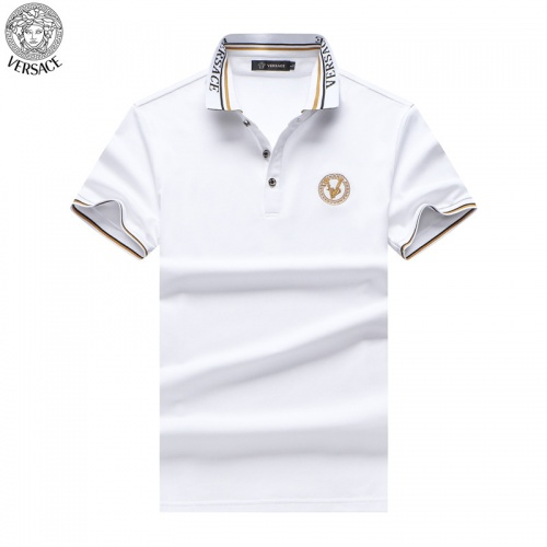 Versace T-Shirts Short Sleeved For Men #865466 $32.00 USD, Wholesale Replica Versace T-Shirts
