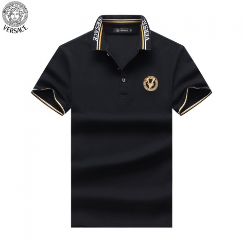 Versace T-Shirts Short Sleeved For Men #865467 $32.00 USD, Wholesale Replica Versace T-Shirts
