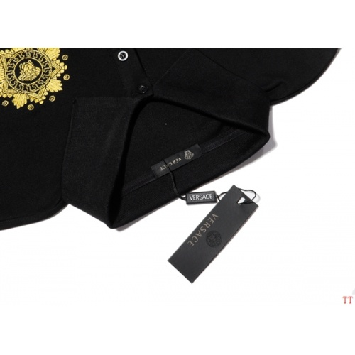 Replica Versace T-Shirts Short Sleeved For Men #865614 $39.00 USD for Wholesale