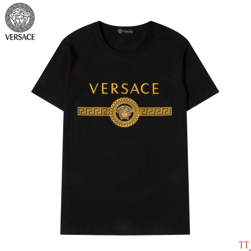 Versace T-Shirts Short Sleeved For Men #865618 $32.00 USD, Wholesale Replica Versace T-Shirts
