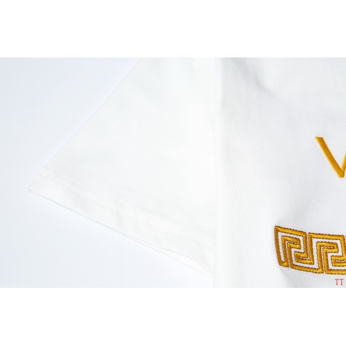 Replica Versace T-Shirts Short Sleeved For Men #865619 $32.00 USD for Wholesale