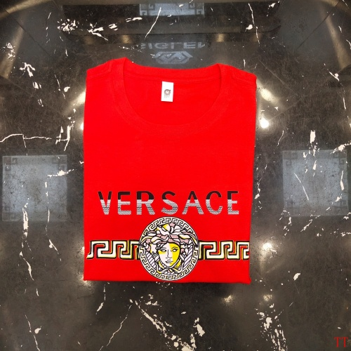 Replica Versace T-Shirts Short Sleeved For Men #865620 $39.00 USD for Wholesale