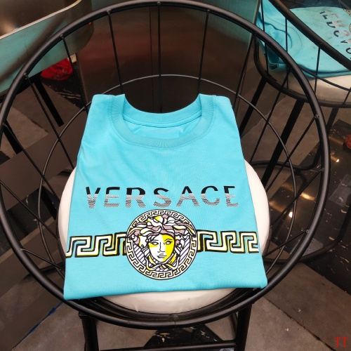 Replica Versace T-Shirts Short Sleeved For Men #865622 $39.00 USD for Wholesale