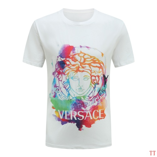 Versace T-Shirts Short Sleeved For Men #865628 $27.00 USD, Wholesale Replica Versace T-Shirts