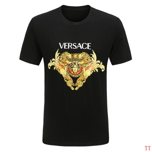 Versace T-Shirts Short Sleeved For Men #865629 $27.00 USD, Wholesale Replica Versace T-Shirts