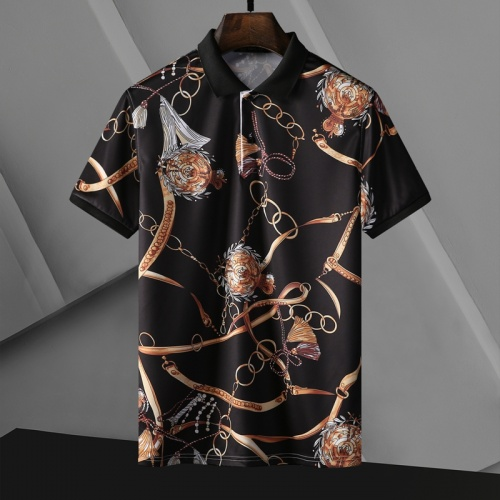 Versace T-Shirts Short Sleeved For Men #865973 $29.00 USD, Wholesale Replica Versace T-Shirts