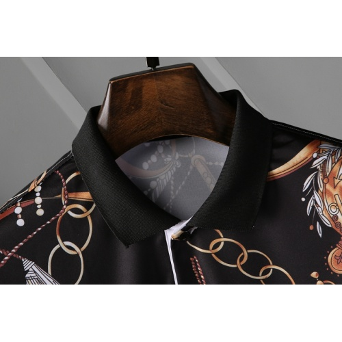 Replica Versace T-Shirts Short Sleeved For Men #865973 $29.00 USD for Wholesale