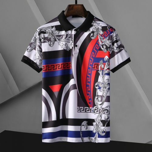 Versace T-Shirts Short Sleeved For Men #865975 $29.00 USD, Wholesale Replica Versace T-Shirts