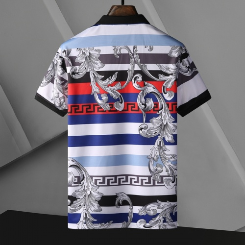 Replica Versace T-Shirts Short Sleeved For Men #865975 $29.00 USD for Wholesale