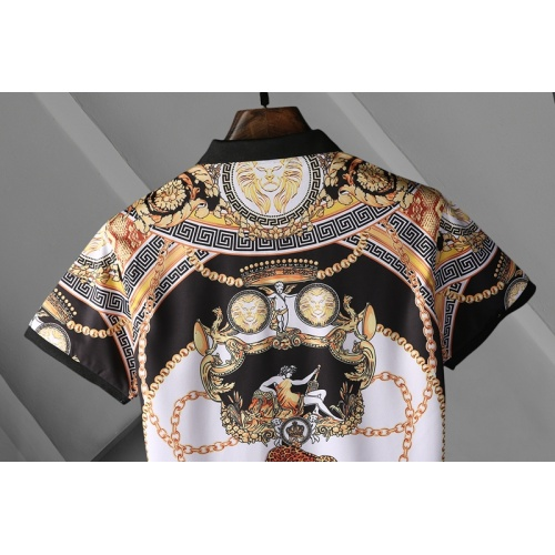 Replica Versace T-Shirts Short Sleeved For Men #865976 $29.00 USD for Wholesale