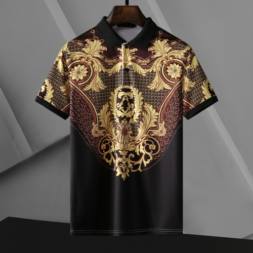 Versace T-Shirts Short Sleeved For Men #865977 $29.00 USD, Wholesale Replica Versace T-Shirts