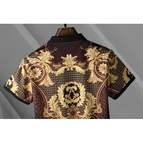 Replica Versace T-Shirts Short Sleeved For Men #865977 $29.00 USD for Wholesale