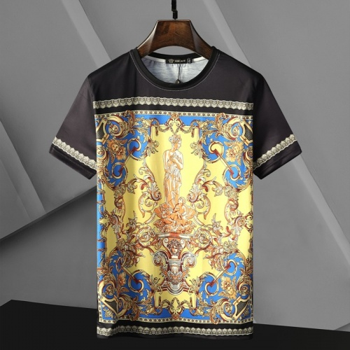 Versace T-Shirts Short Sleeved For Men #866041 $25.00 USD, Wholesale Replica Versace T-Shirts