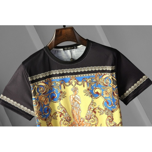 Replica Versace T-Shirts Short Sleeved For Men #866041 $25.00 USD for Wholesale