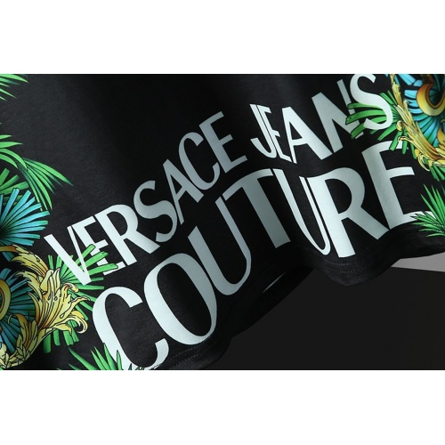 Replica Versace T-Shirts Short Sleeved For Men #866044 $25.00 USD for Wholesale