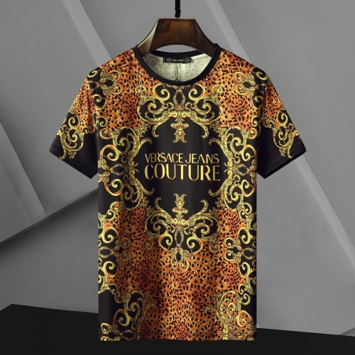 Versace T-Shirts Short Sleeved For Men #866045 $25.00 USD, Wholesale Replica Versace T-Shirts