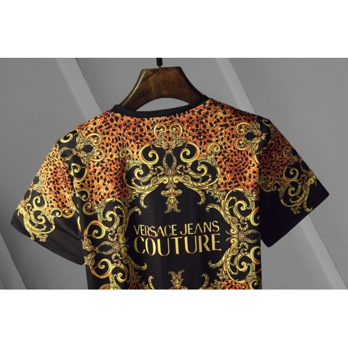 Replica Versace T-Shirts Short Sleeved For Men #866045 $25.00 USD for Wholesale