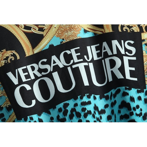 Replica Versace T-Shirts Short Sleeved For Men #866046 $25.00 USD for Wholesale