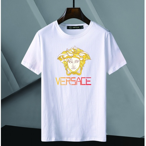 Versace T-Shirts Short Sleeved For Men #866052 $25.00 USD, Wholesale Replica Versace T-Shirts