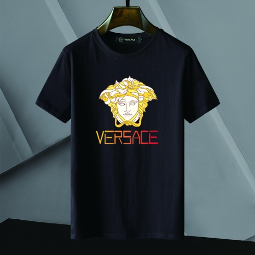 Versace T-Shirts Short Sleeved For Men #866053 $25.00 USD, Wholesale Replica Versace T-Shirts
