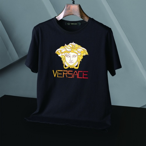 Replica Versace T-Shirts Short Sleeved For Men #866053 $25.00 USD for Wholesale