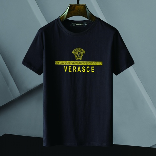 Versace T-Shirts Short Sleeved For Men #866055 $25.00 USD, Wholesale Replica Versace T-Shirts