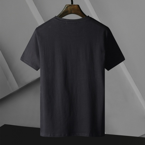 Replica Versace T-Shirts Short Sleeved For Men #866055 $25.00 USD for Wholesale