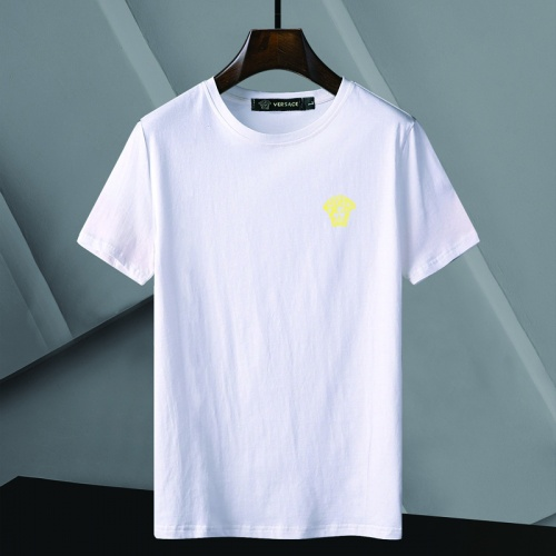 Versace T-Shirts Short Sleeved For Men #866056 $25.00 USD, Wholesale Replica Versace T-Shirts